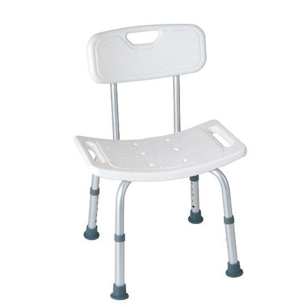 Sedia doccia con schienale